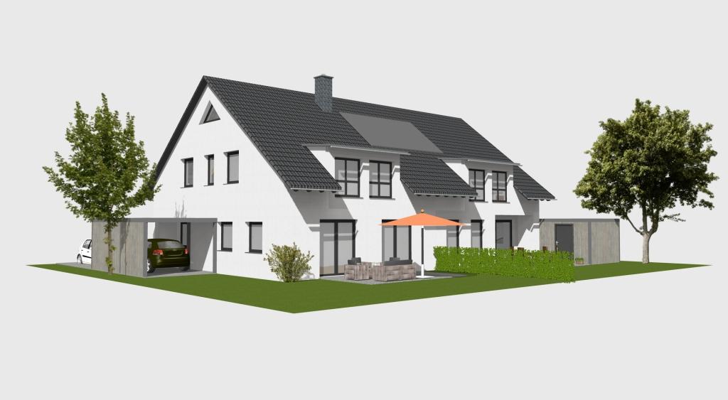 plan und baustudio  hannover doppelhaus