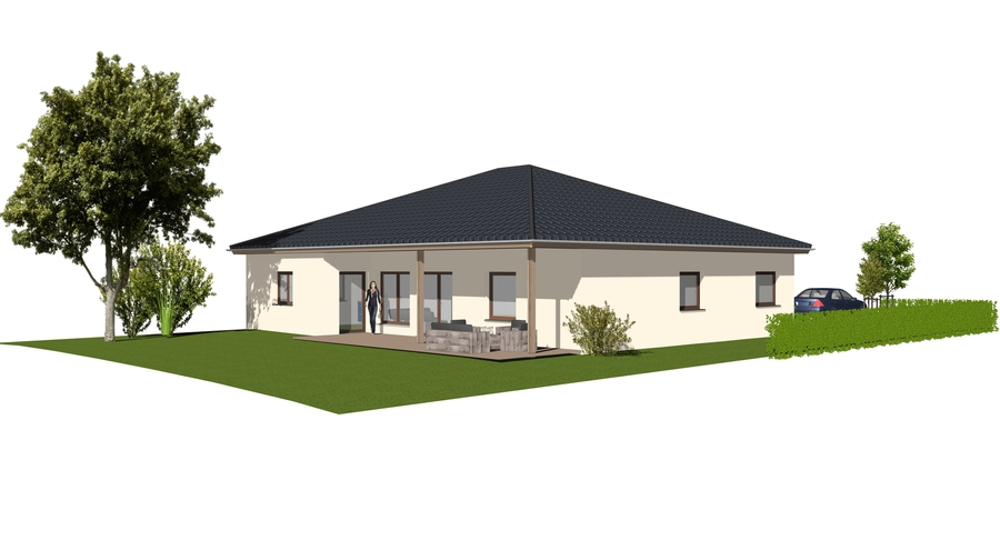 Plan Und Baustudio 30982 Pattensen Bungalow Mit Garage