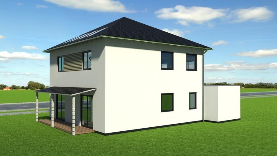 Plan und baustudio 31157 sarstedt stadtvilla for Stadtvilla plan